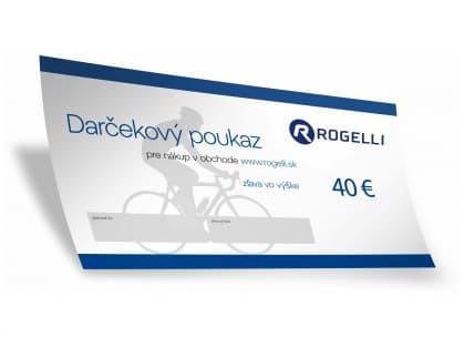 Darčekový poukaz 40 EUR