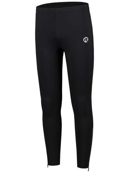 Tenké bežecké nohavice Rogelli BOONE, čierne