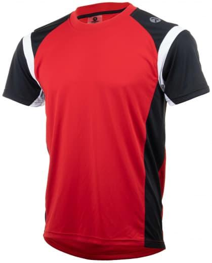 Funkčné tričko Rogelli DUTTON, červeno-čierno-biele