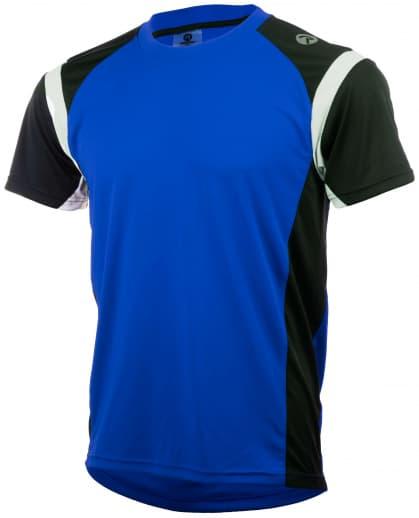 Funkčné tričko Rogelli DUTTON, modro-čierno-biele