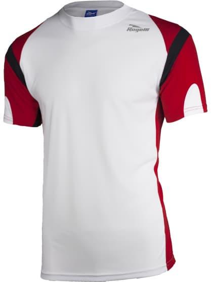 Funkčné tričko Rogelli DUTTON, bielo-čierno-červené