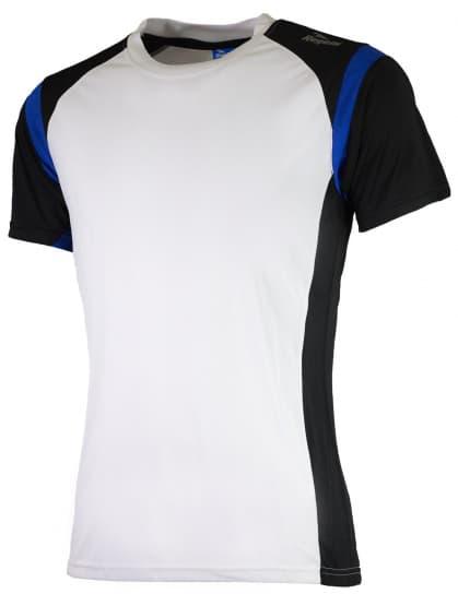 Funkčné tričko Rogelli DUTTON, bielo-čierno-modré