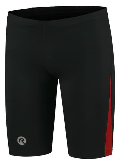 Bežecké kraťasy Rogelli DIXON, čierno-červené