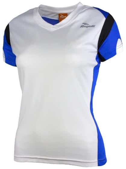 Dámske funkčné tričko Rogelli EABEL, bielo-modro-čierne