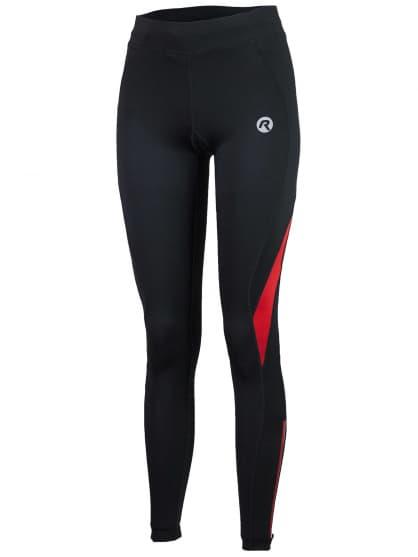 Dámske bežecké nohavice Rogelli EMNA, čierno-červené