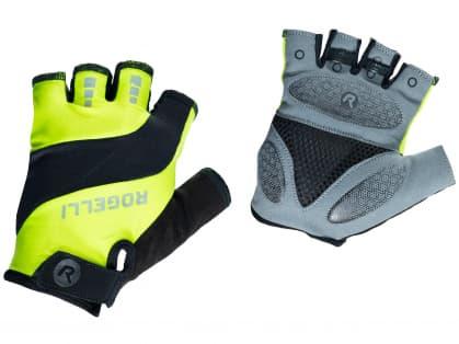 Cyklistické rukavice Rogelli PHOENIX, reflexno žlté