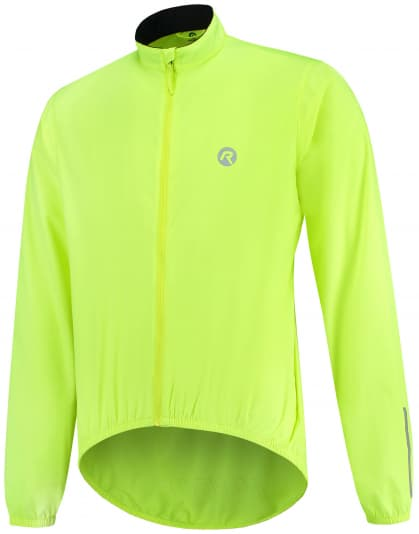 Cyklistická vetrovka Rogelli ARIZONA, reflexná žltá