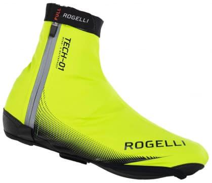 Nepremokavé ultraľahké cyklonávleky na tretry Rogelli FIANDREX, reflexné žlté