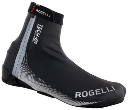 Nepremokavé ultraľahké cyklonávleky na tretry Rogelli FIANDREX, čierno-strieborné