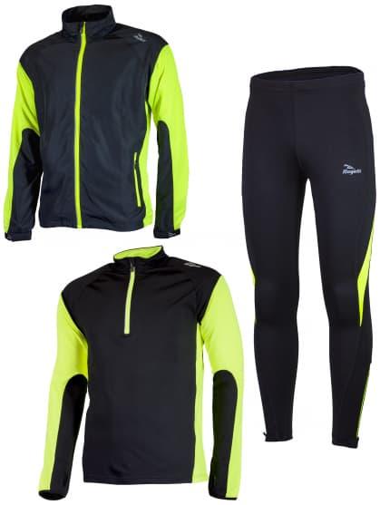 Funkčné bežecké oblečenie Rogelli D-MEN, reflexné žlté
