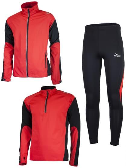 Funkčné bežecké oblečenie Rogelli D-MEN, červené