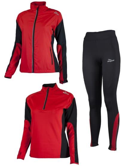 Dámske funkčné oblečenie Rogelli LADY-E, červené