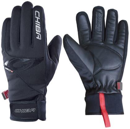 Športové zimné rukavice Chiba CLASSIC, čierne