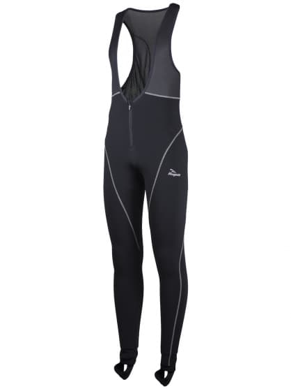 Zateplené športové nohavice so zipsom na bruchu Rogelli BARGA, čierne