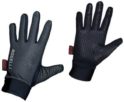 Tenké zimné membránové rukavice Rogelli LAVAL, čierne