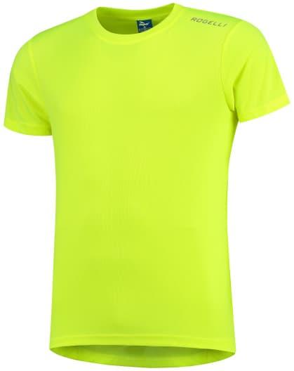 Funkčné tričko Rogelli PROMOTION, reflexné žlté