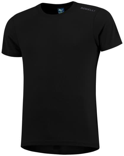 Detské funkčné tričko Rogelli PROMOTION, čierne