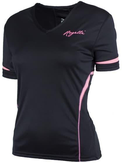 Dámske fitness tričko Rogelli FABRIZIA, čierne