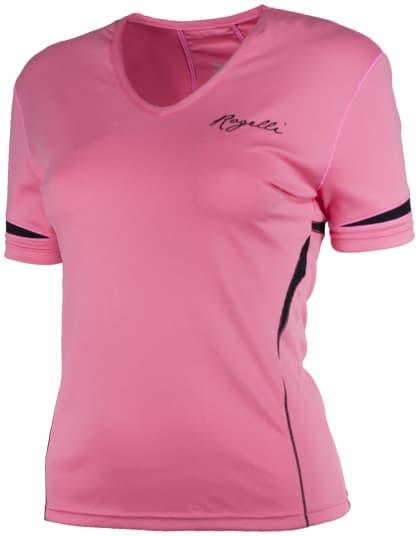 Dámske fitness tričko Rogelli FABRIZIA, ružové