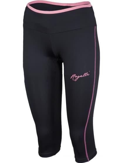 Dámske fitness 3/4 kraťasy Rogelli FRIDA, čierne