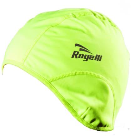 Softshellová čiapka pod prilbu Rogelli LAZIO, reflexná žltá