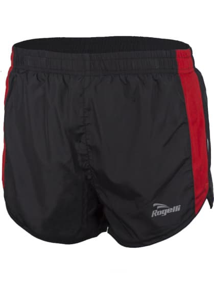 Bežecké šortky Rogelli FIRENZE, čierno-červené