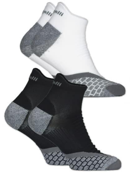 Funkčné ponožky Rogelli COOLMAX LOW RUN - 2 páry, rôzne veľkosti