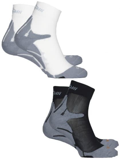 Funkčné ponožky Rogelli COOLMAX RUN - 2 páry, rôzne veľkosti