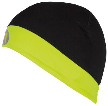 Elastická čiapka Rogelli LESTER, čierno-reflexná žltá