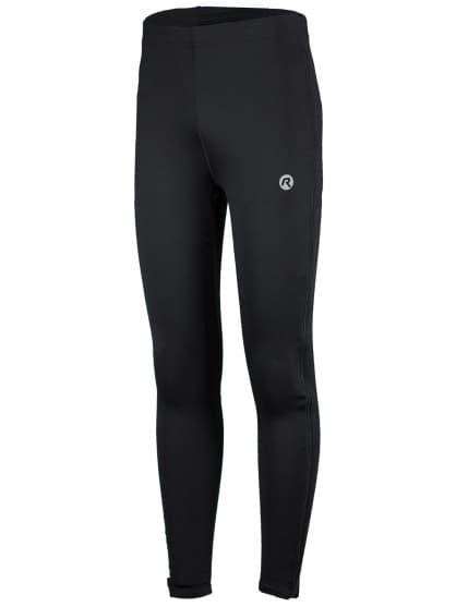 Elastické nohavice so zipsom po celej dĺžke nohavíc Rogelli BRENO, čierne