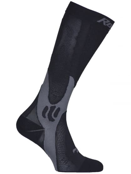 Kompresné mierne hrejivé ponožky Rogelli SK-06, čierne