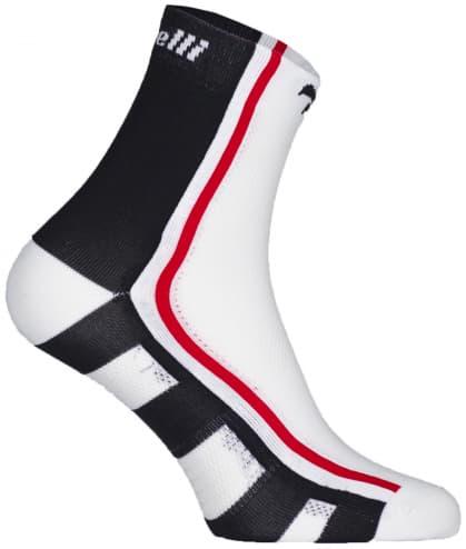 Antibakteriálne funkčné ponožky s miernou kompresiou Rogelli Q-SKIN, čierne