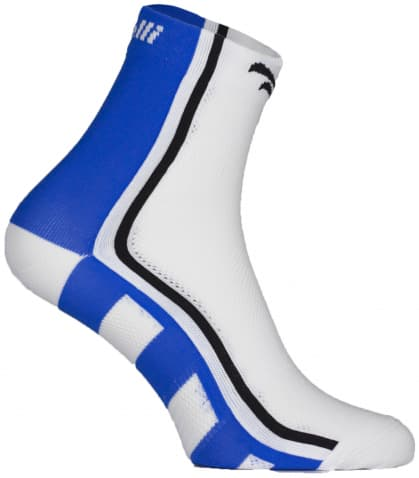 Antibakteriálne funkčné ponožky s miernou kompresiou Rogelli Q-SKIN, modré