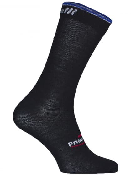 Stredne hrubé funkčné ponožky Rogelli PRIMALOFT, čierno-modré