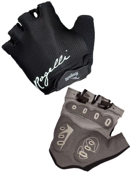 Dámske cyklo rukavice Rogelli DORA, čierne