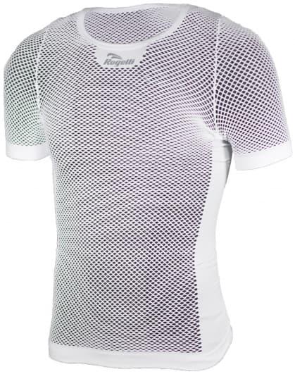 Sieťované funkčné tričko AIR Rogelli, krátky rukáv, biele