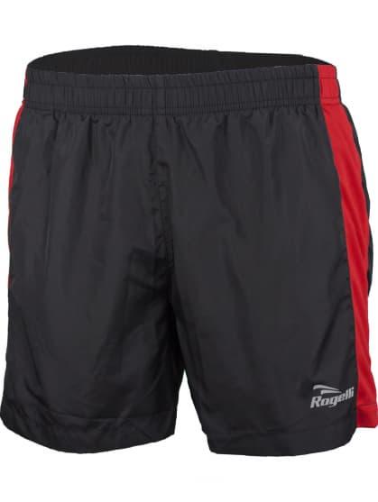 Bežecké šortky Rogelli TARANTO, čierno-červené