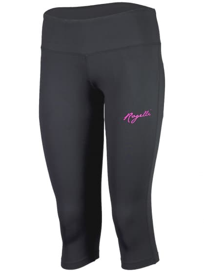 Dámske fitness 3/4 kraťasy Rogelli FABIE, čierne