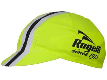Športová šiltovka Rogelli RETRO, reflexná žltá