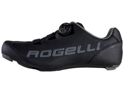 Cestné cyklistické tretry Rogelli AB410, čierno-šedé