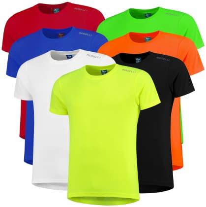 Funkčné tričká Rogelli PROMOTION MIX - 7 ks rôzne veľkosti