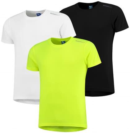 Funkčné tričká Rogelli PROMOTION MIX BEST - 3 ks rôzne veľkosti