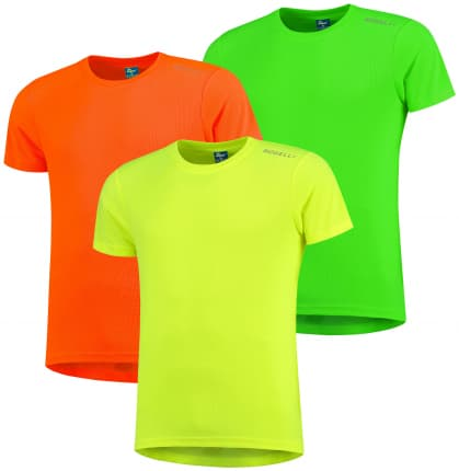 Funkčné tričká Rogelli PROMOTION MIX REFLEX - 3 ks rôzne veľkosti