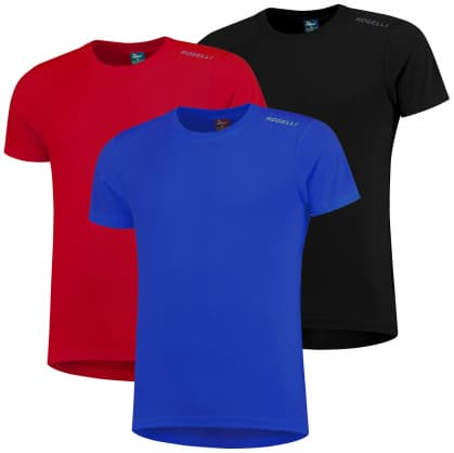 Funkčné tričká Rogelli PROMOTION MIX KLASIK - 3 ks rôzne veľkosti