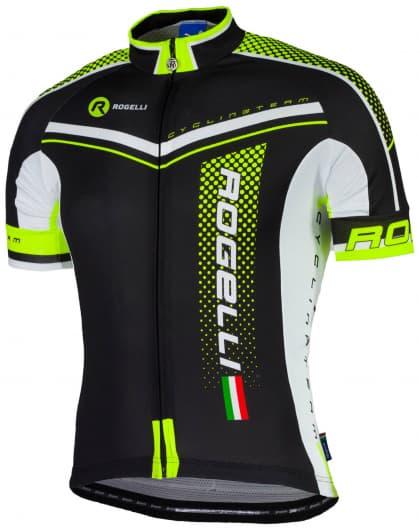 Cyklodres Rogelli GARA MOSTRO s krátkym rukávom, reflexný žltý