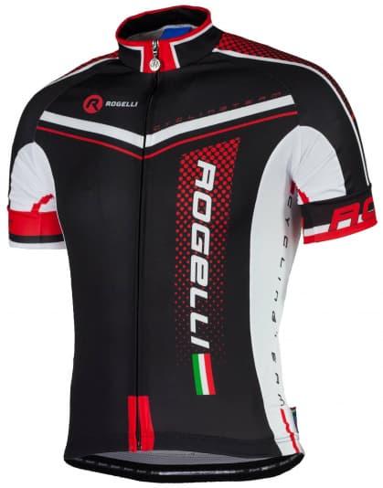 Cyklodres Rogelli GARA MOSTRO s krátkym rukávom, čierno-červený