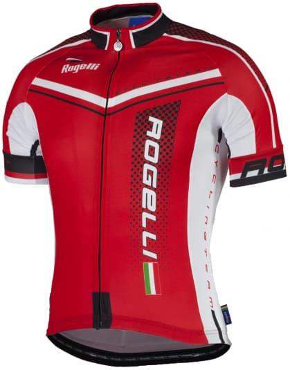 Cyklodres Rogelli GARA MOSTRO s krátkym rukávom, červený