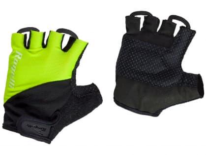 Cyklistické rukavice Rogelli DUCOR, reflexné žlté