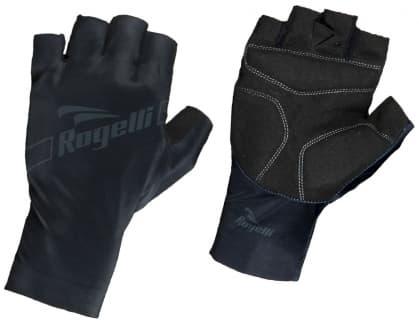 Cyklistické rukavice Rogelli LOGAN, čierne