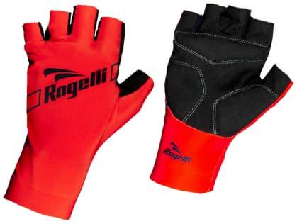 Cyklistické rukavice Rogelli LOGAN, červené